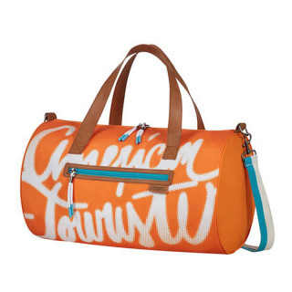 American Tourister Fun Limit Sac de Voyage Souple 45cm Funky Orange