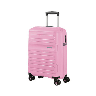 American Tourister Sunside Spinner 55 cm Valise Cabine Trolley 4 Roues Pink Gelato
