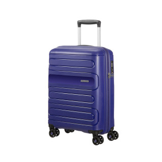 American Tourister Sunside Spinner 55 cm Valise Cabine Trolley 4 Roues Navy