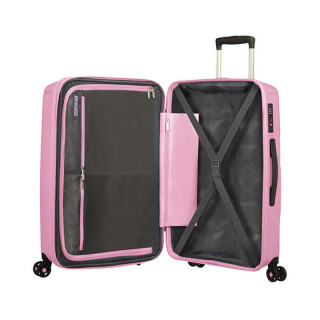 American Tourister Sunside Spinner 77 cm Valise Trolley 4 Roues Pink Gelato