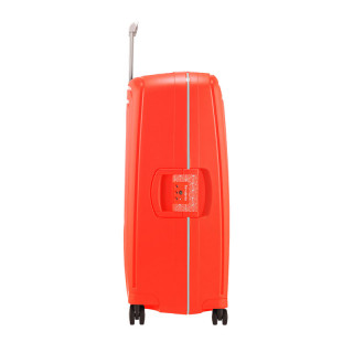Samsonite S'Cure Spinner 75 cm Trolley Suitcase 4 Wheels Fluo Red Capri