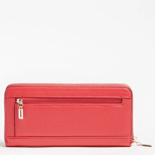 Guess Becca Compagnon Large Zip Around Red