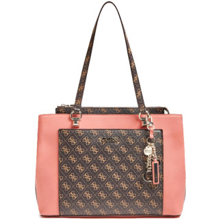 Guess Camy Sac Cabas Girlfriend Brown Multi