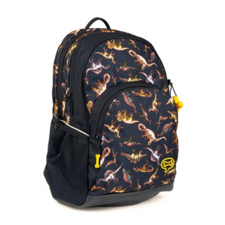 Stone and Bones Back Bag 2 compartments Aspen Jurassic Navy