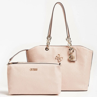 Guess Chic Shine Sac Shopping et Pochette 2 en 1 BLS