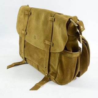 Mila Louise Bernie Croute Crossbody Bag Tobacco