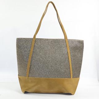 Mila Louise Romy Alveole 2 sac shopping Tabac