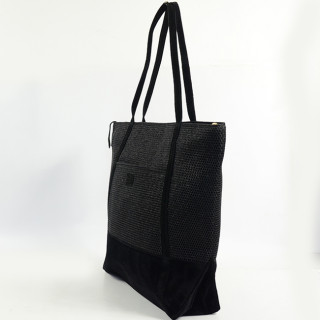 Mila Louise Romy Alveole 2 sac shopping Noir
