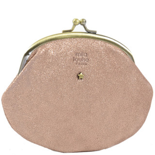 Mila Louise Oro X Porte Monnaie Rouge Poudre