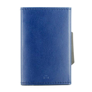 Ogon Leather Card Holder Cascade Wallet Navy Blue