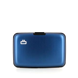 Ogon Aluminium Wallet Stockholm Navy Blue