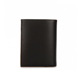 Lancaster Smooth Men Leather Wallet 128-74 Black Camel