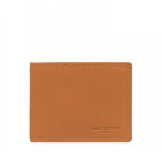 Lancaster Soft Vintage Men Leather Wallet 120-11 Gold