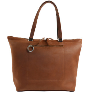 Jean Louis Fourès Baroudeuse bag Shopping Leather Fauve