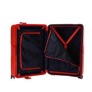 Jump Maxlock Valise Moyenne 66cm 4 Roues Fermeture TSA Orange