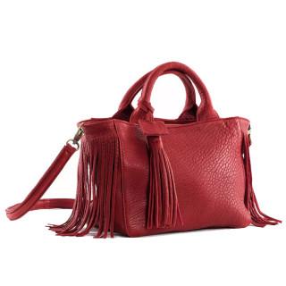Virginie Darling Baby Darling Red Bubble Handbag