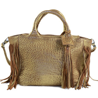 Virginie Darling Bag A Main Baby Darling Bubble Gold