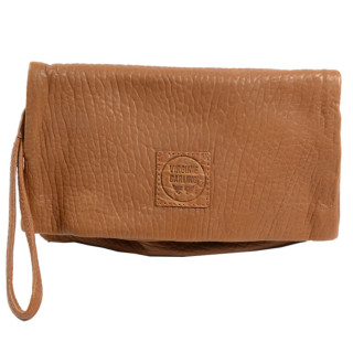 Virginie Darling Pochette Clutch Elena Medium Bubble Honey