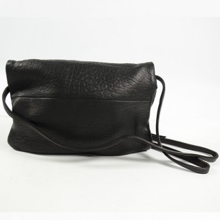 Virginie Darling Pochette Clutch Elena Medium Bubble Black