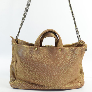 Virginie Darling Bag A Main Regina Bubble Gold
