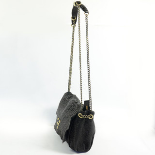 Virginie Darling Crossbody Bag Wild Medium Bubble Black