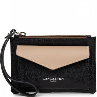 Lancaster Maya Organized Pocket 117-04 Black Nude Vison