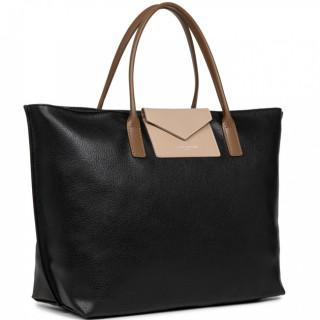 Lancaster Maya Grand Bag Cabas 517-19 Black Nude Vison