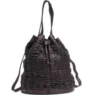 Biba Harper Bucket Bag Worn Travers Negro