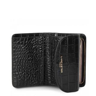 Lancaster Exotic Croco Wallet 124-11 Black