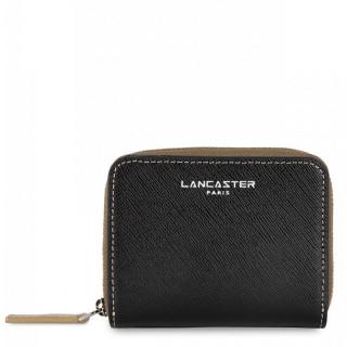 Lancaster Saffiano Timeless Portfolio 121-28 Black Vison Champagne