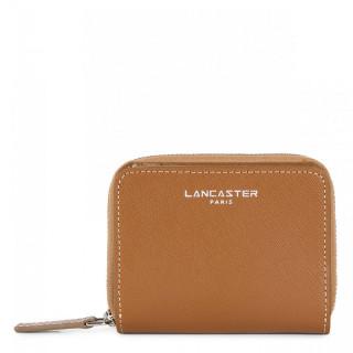 Lancaster Saffiano Intemporel Portefeuille 121-28 Camel Nude Vison
