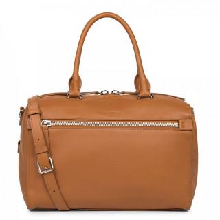 Lancaster Soft Nappa Bag A Hand 577-07 Honey