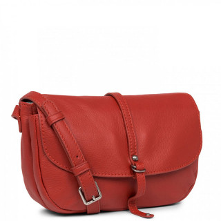 Lancaster Soft Vintage Nova Crossbody Bag 578-25 Red