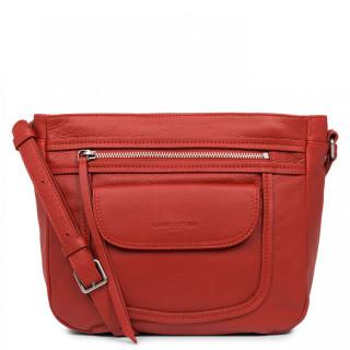 Lancaster Soft Vintage Axelle Crossbody Bag 578-86 Red