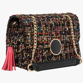 Lollipops Gossip Sac Bandoulière Tweed Multi doré