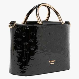 Lollipops Gourmande Bag A Hand Black Golden