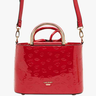 Lollipops Gourmande Bag A Hand Golden Red