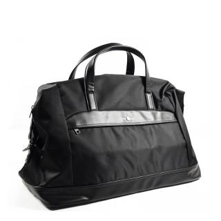 Serge Blanco Calgary Black Soft Travel Bag