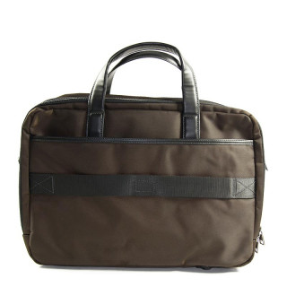 "Serge Blanco Calgary Bag Computer 2 compartments 15"" Brown"