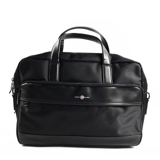 "Serge Blanco Calgary Bag Computer 2 compartments 15"" Black"