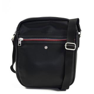 Serge Blanco Ontario Black Leather Bag