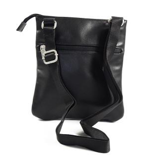 Serge Blanco Ontario Pocket Black Leather