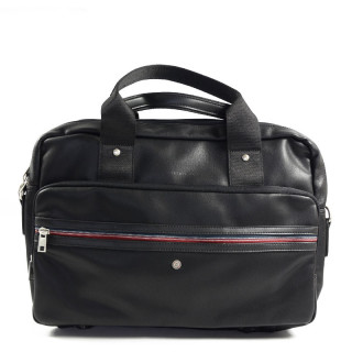 "Serge Blanco Ontario 14"" Computer Bag 2 Black Compartments"