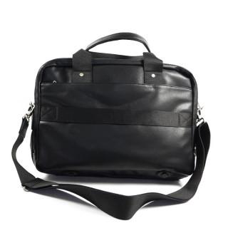 "Serge Blanco Ontario 14"" Computer Bag 2 Black Compartments"