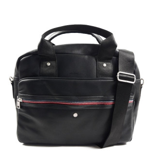 "Serge Blanco Ontario Bag Computer 15"" 1 Black Bay"