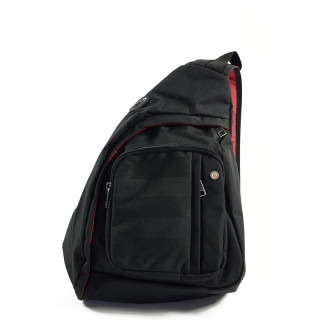 Serge Blanco Trentino Mini Sac Holster Porté Travers Noir