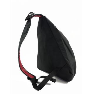 Serge Blanco Trentino Mini Holster Bag Worn Travers Noir