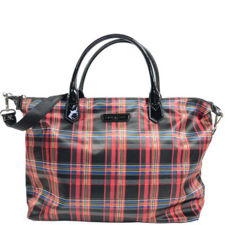 Lancaster Basic Verni Grand Bag Shopping 514-67 Red Tartan
