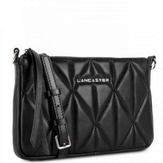Lancaster Parisienne Matelassé Pochette 522-92 Noir