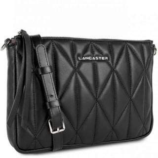 Lancaster Parisienne Matelassé Pouch 522-93 Black